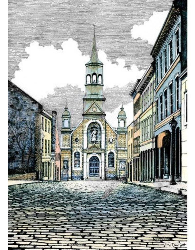 Église Bonsecours L10XC 15 1/2 x 12