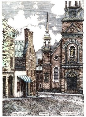 Calvet house  Bonsecours church L8MC 8 1/2 x 11