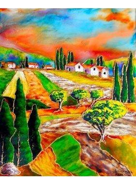 """Jean Cousineau Toscane Vision IV 14""""x11"""""""
