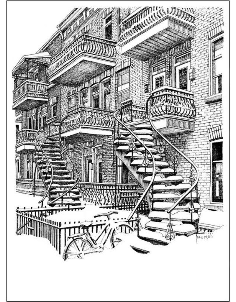 Escaliers L3P 9 x 7