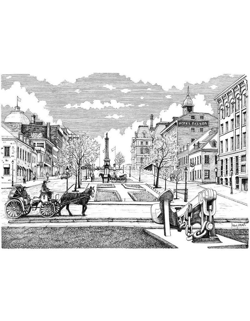 Place Jacques Cartier LM1 8 1/2 x 11