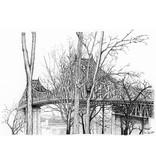 Pont Jacques Cartier L14M 8 1/2 x 11