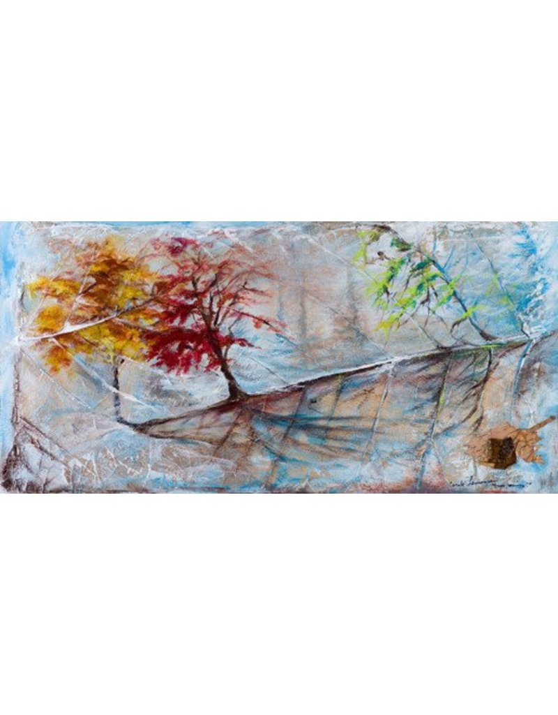 """Carole Laurence Symphonie des saisons 12""""x24"""""""