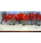 "Carole Laurence Rouge Passion 12""x24"""
