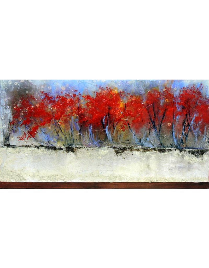 """Carole Laurence Rouge Passion 12""""x24"""""""