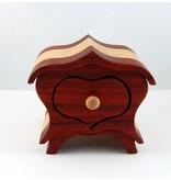 Jewelery box Heart  - Small