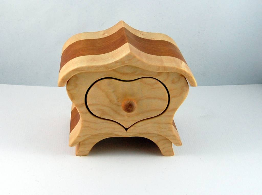 Jewelery box Heart  - Small