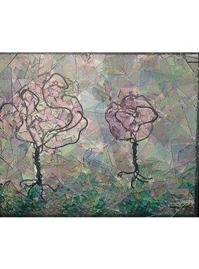 Ghyslaine Couture Pommiers en fleurs