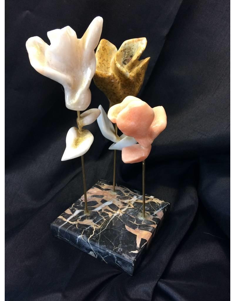 Lucie Nadeau 3 Fleurs tige