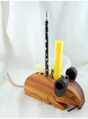 Alain Mailhot - Sculpteur 1 Mouse  - Crayons holder