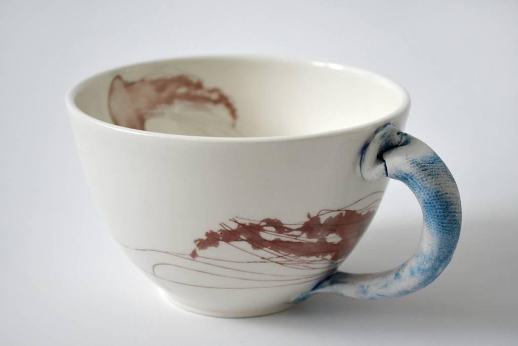 Catherine De Abreu Tasse café au lait Méduse