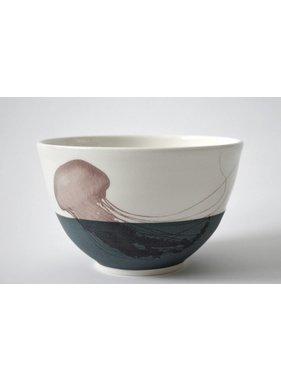 Catherine De Abreu 1 Small Bowl Jellyfish 08-M