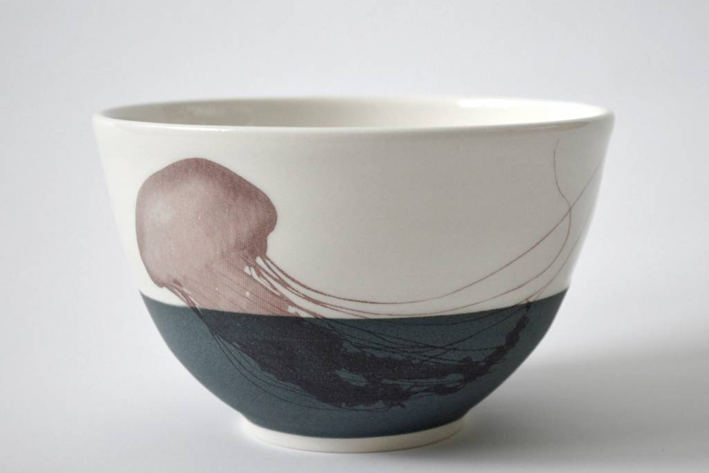 Catherine De Abreu Small Bowl Jellyfish