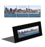 Daniel Jussaume Triptych - Downtown Montreal