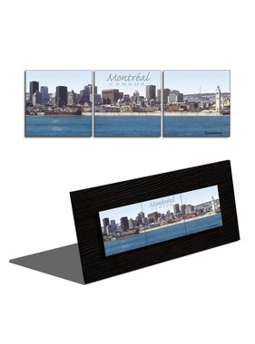Daniel Jussaume Downtown Montreal 3 - Triptych