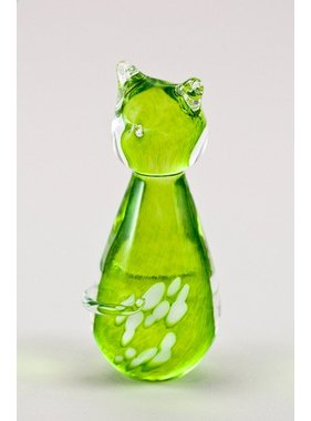 Chat vert lime