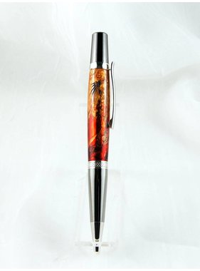 1 Stylo bille Beauty Collection Feu Be21274 Or 22k