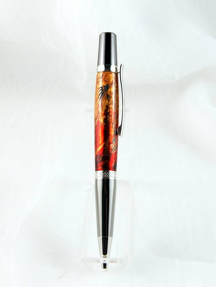 Ballpoint pen Beauty Collection Fire Be21274  22K Gold