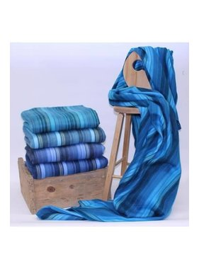 Alpaca wool Throws  - Blue