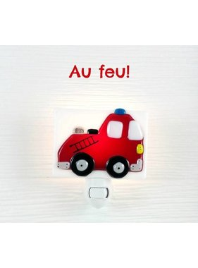 Veille sur toi Firefighter Night light