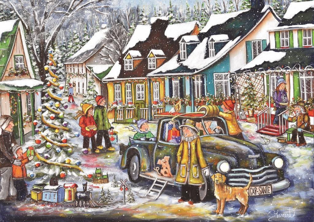 Casse tête - Noël d'Antan de C. Genest