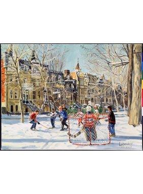 Partie de hockey 104134 - M. Lapensée