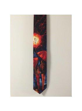 Cravate de soie - Couple