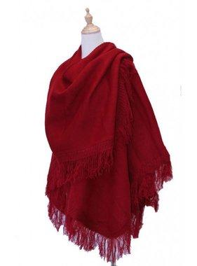 1 Châle classique en laine d'Alpaga - Choix de couleur