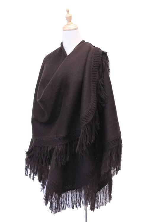 Châle classique en laine d'Alpaga
