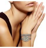 Diane Balit Papillon - Bracelet double, boitier en inox