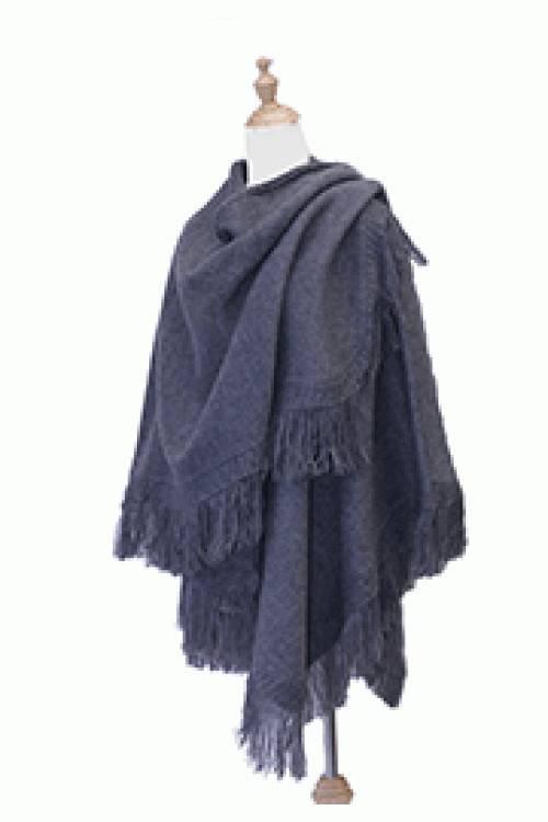 Alpaca TC Châle classique en laine d'Alpaga