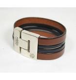 Bracelet en cuir  Canadiana - Pour homme