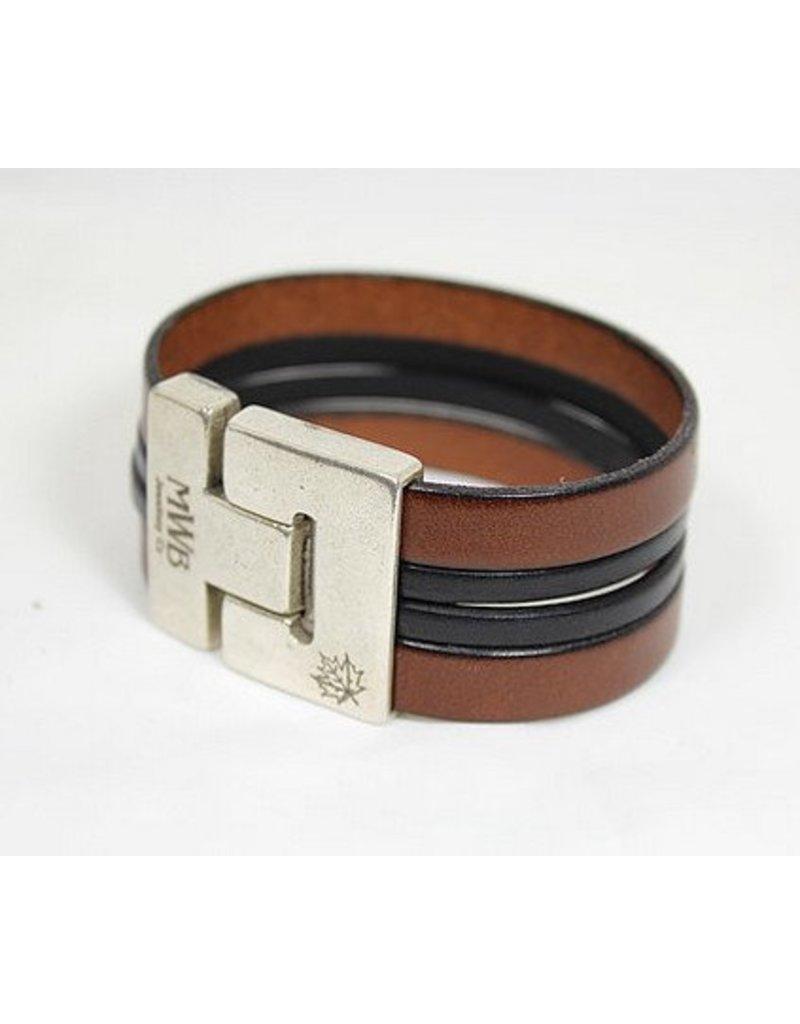 Bracelet cuir homme quebec