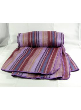 Alpaca wool Throws  - Lilac