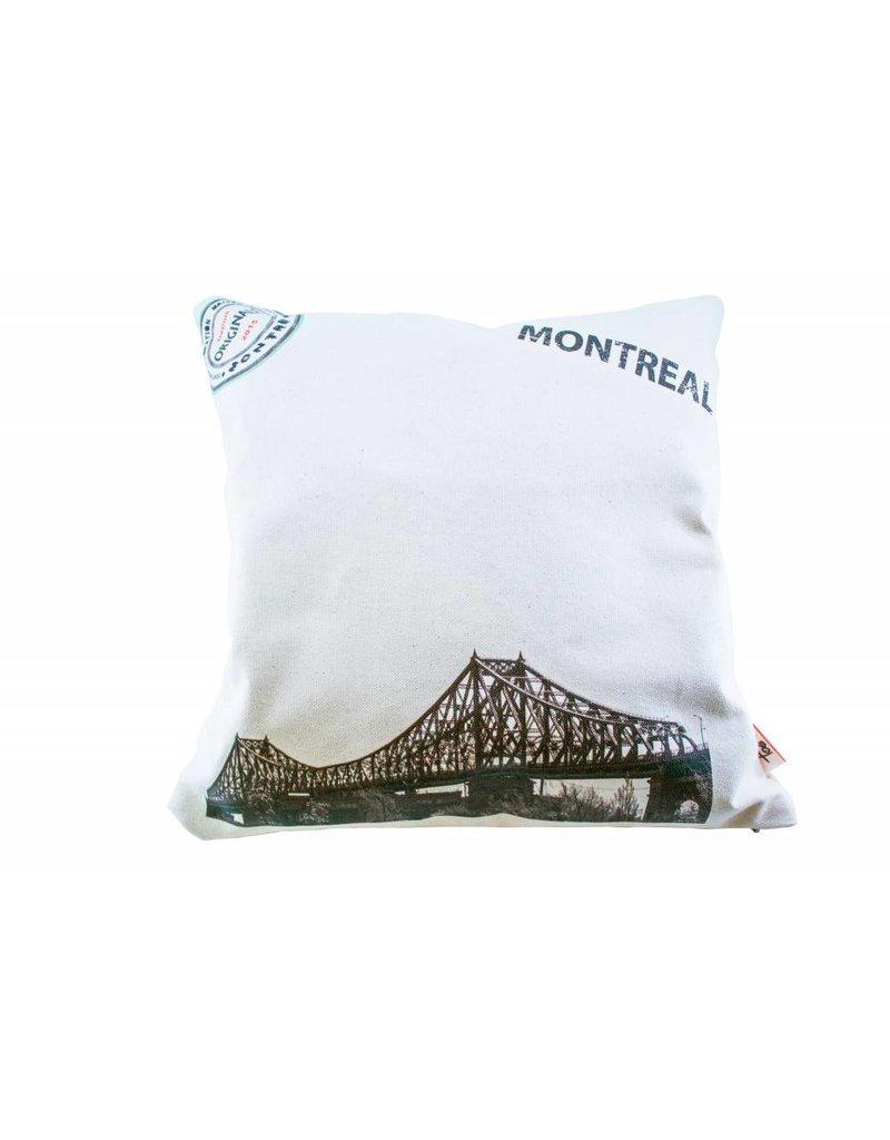 Coussin Cartier de Montréal