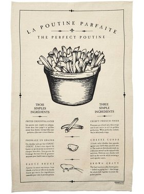 1 The Perfect Poutine tea towel