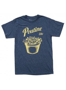T-shirt Poutine - Blue