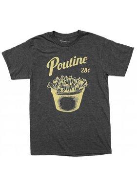 T-shirt Poutine - Grey