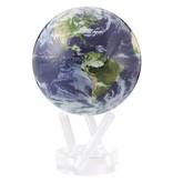 Globe Bleu océan  - Vue Satellite