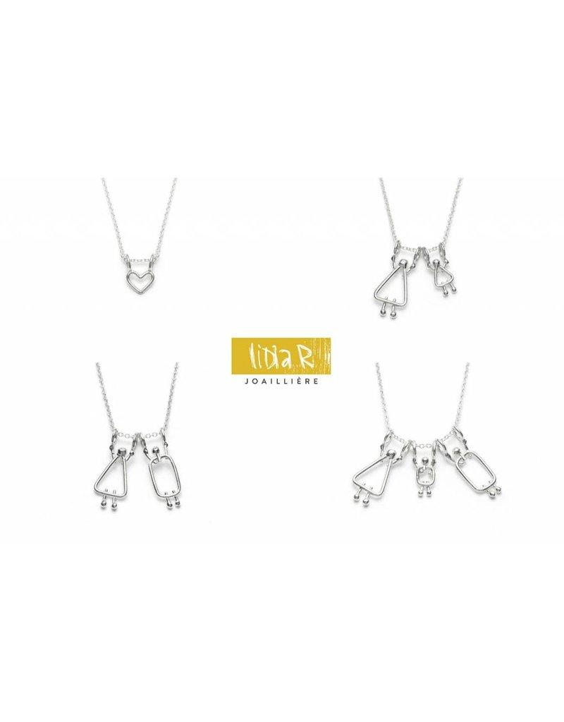 Lidia R Joailliere Personnaliser votre propre collier de famille