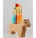 Alain Mailhot - Sculpteur Brush Holder - Horse