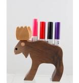 Alain Mailhot - Sculpteur Moose -  Felt pen holder