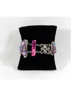 1 Bracelet Corallien - mauve