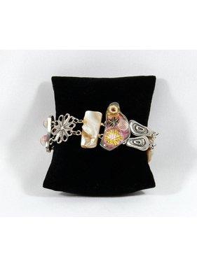 1 Bracelet Corallien - rose