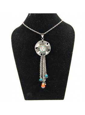 1 Anemone long necklace