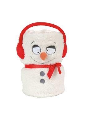 Jeté bonhomme de neige 4059394
