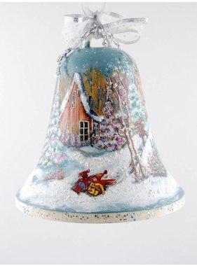 "Ghislaine Bergeron Christmas Bell # 04 of 7 """