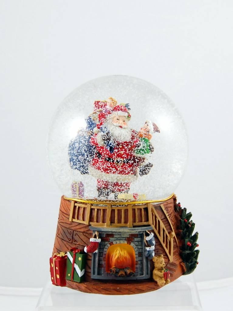Boule d'eau Musicale Père Noël