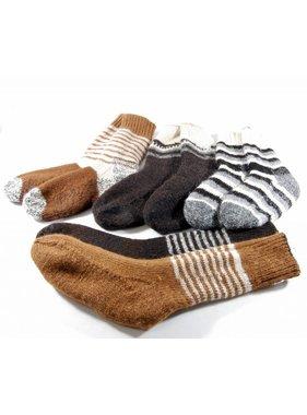 1 Double and reversible socks - Alpaca wool