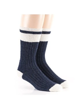 1 Blue Tradition socks - 80% Alpaca wool